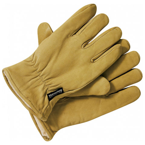 Dickies Dickies Lined Leather Work Gloves