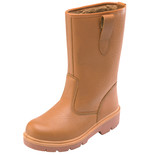 Dickies Super Safety Rigger Boot Lined Tan 8
