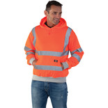 Dickies SA22090 Hi-Vis Safety Hooded Sweatshirt