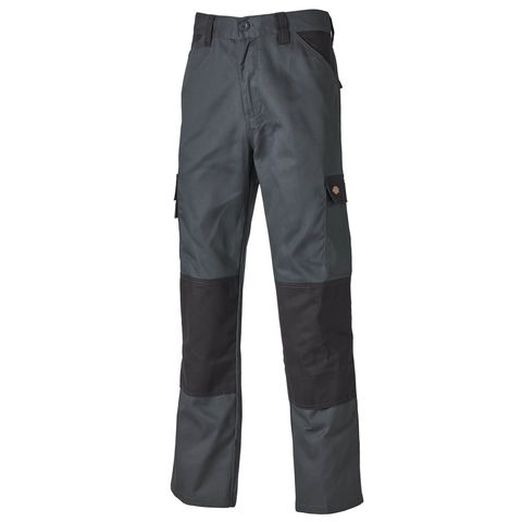 Dickies Dickies Ed24 7r Grey Black Work Trousers
