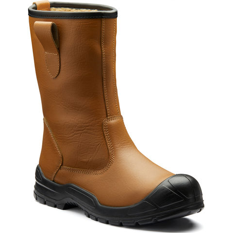 Image of Dickies Dickies Dixon Lined Rigger Boots Tan Size 6