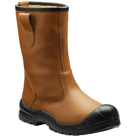 Dickies Dickies Dixon Lined Rigger Boots Tan