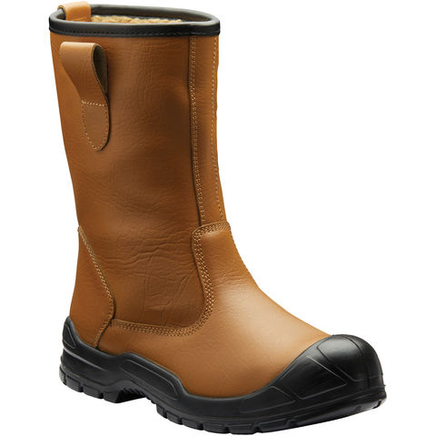 Image of Dickies Dickies Dixon Lined Rigger Boots Tan Size 10