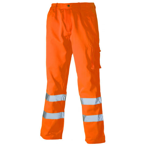 Image of Dickies Dickies SA35015 High Visibility Polycotton Trousers