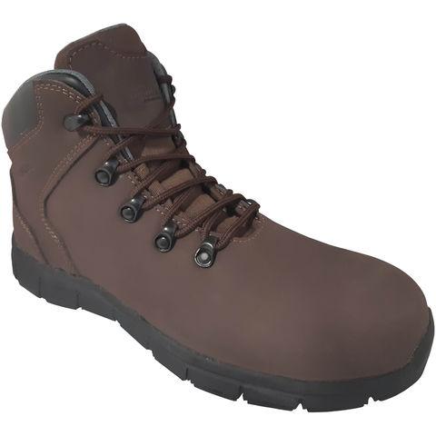 Torque Torque Brown Hiker Safety Boot – Sizes 8 11