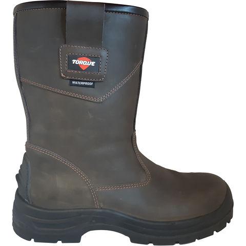 Torque Torque Rigger Brown Safety Boot