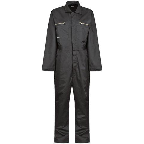 Regatta Regatta Professional Trj513r Pro Zip Overalls Black
