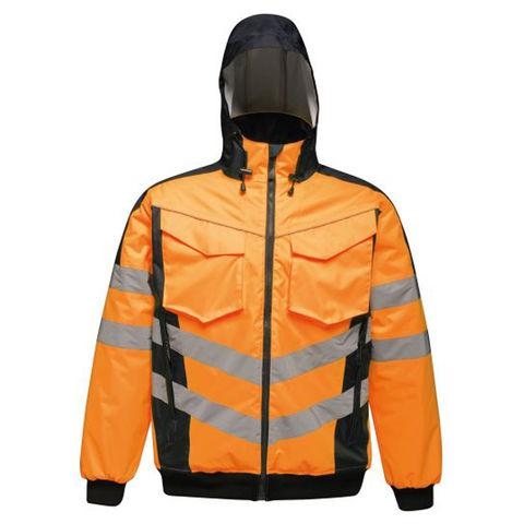 Regatta Regatta Professional Tra314 Hi Vis Pro Bomber Jacket Orange Or Yellow