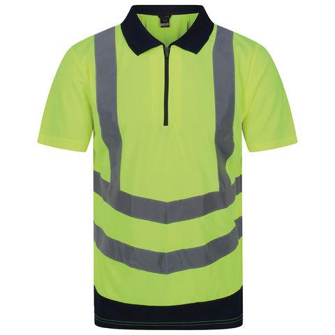Regatta Regatta Professional Trs189 Hi Vis Pro Polo Yellow Or Orange