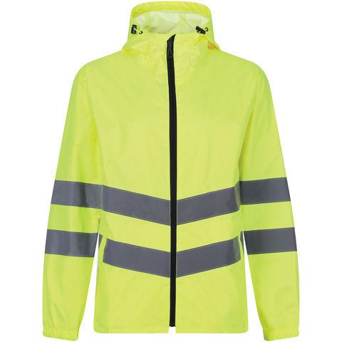 Regatta Regatta Professional Trw497 Hi Vis Pro Packaway Jacket Yellow Or Orange