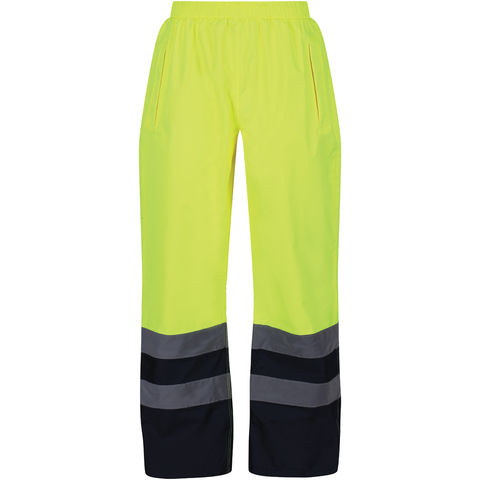 Regatta Regatta Professional Trw505 Hi Vis Pro Overtrousers Yellow Or Orange