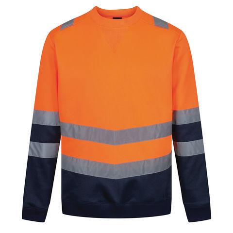 Regatta Regatta Professional Trf656 Pro Hi Vis Sweat Top Orange