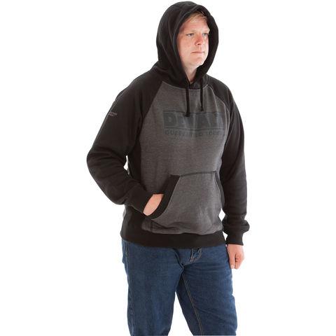 Dewalt Dewalt Stratford Grey Marl Hooded Sweatshirt