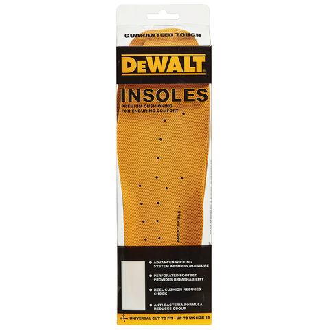 Dewalt Dewalt Premium Insoles Universial Cut To Fit Up To Uk Size 12
