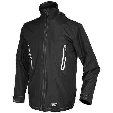 Sealey Sealey Heated Rain Jacket 5v Small To Xl
