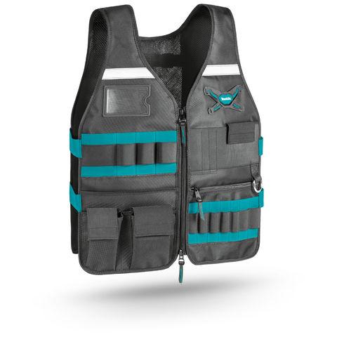 Makita Makita E 05636 Work Vest Adjustable Pockets