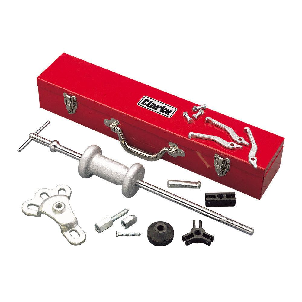 bdd0804ed Clarke CHT251 10 Piece Slide Hammer   Puller Set - Machine Mart ...