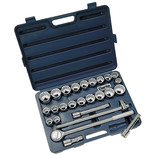 "Clarke CHT263 26 Piece 3/4"" Drive Socket Set"