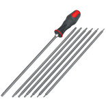 Clarke CHT659 Long Screwdriver Set (TS & Star)