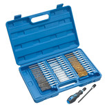 Clarke CHT688 38pc Wire Brush Set