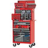 Clarke PRO208 Premium Ball Bearing Tool Chest/Cabinet Package