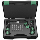 Wera 7440/41/42 Adjustable Torque Screwdriver Set 27 Pieces