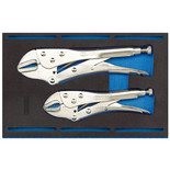 Draper IT-EVA1 2 Piece Self Grip Plier Set