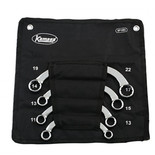 Kamasa SP1493 4 Piece Half Moon Ring Spanner Set
