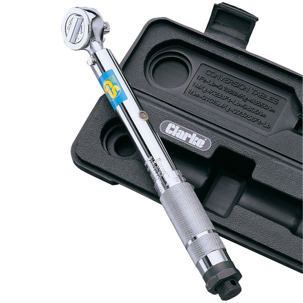 """Clarke 3//8/"""" Drive Reversible Torque Wrench CHT204 1800204"""