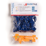 Suretile The 50 ProSpacer Tiling Kit With 4mm Premium, Heavy Duty Tile Spacers