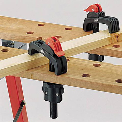 Image of Clarke Clarke CHT334 2-Pce Clamp Set for CFB600 Bench