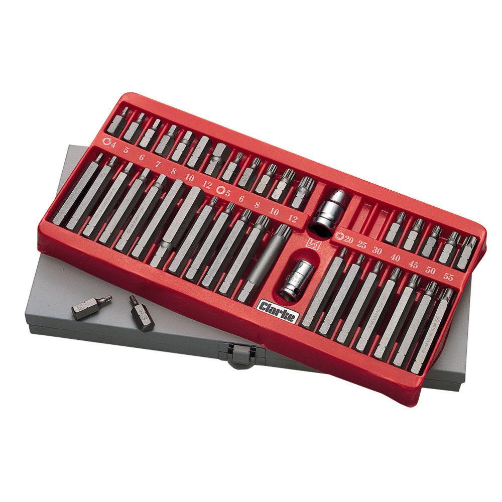"""NEW Teng T10 Torx TX star male socket bit 1//4/"""" drive Trade quality tool inc VAT"""