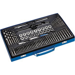Clarke CHT776 76 Piece Metric /BSP Tap And  Die Set
