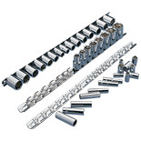 Clarke CHT861 3 Piece Socket Rail Sets