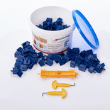 Suretile The Trade '150' Tile Spacer Tub With 150 x 4mm Premium, Heavy Duty Tile Spacers, 2 x J-HOOK and & Multi-tool