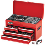 Clarke CHT684 235 Piece AF/Metric Tool Set in Chest