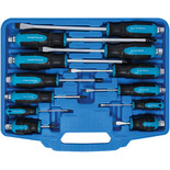 12 Piece Hex Bolster Screwdriver Set with Storage Case