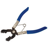 Laser 4231 Hose Clamp Pliers Angle Type Swivel Jaws
