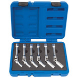 Laser 4324 Extra Long Glow Plug Socket Set 6pc