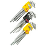 Clarke PRO138 - 29pce Extra Long Hex & Torx Key Set