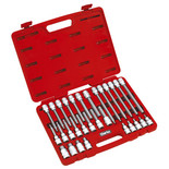 "Clarke PRO160- 30pce ½"" Square Drive Hex Socket Bit Set"