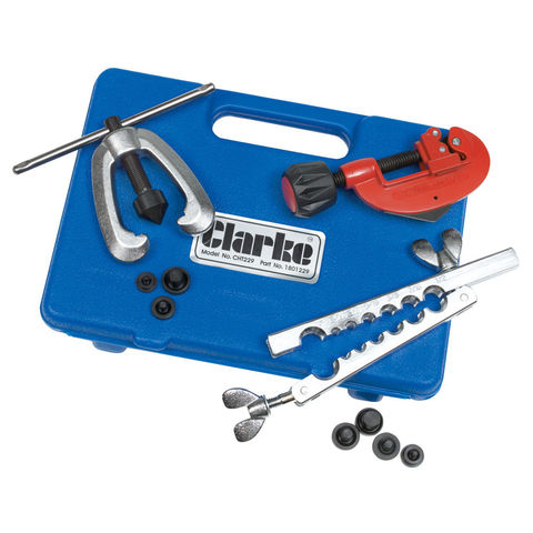 Image of Clarke Clarke CHT229 Pipe Flaring & Cutting Kit