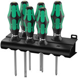 Wera 6 Piece Lasertip Screwdriver Set