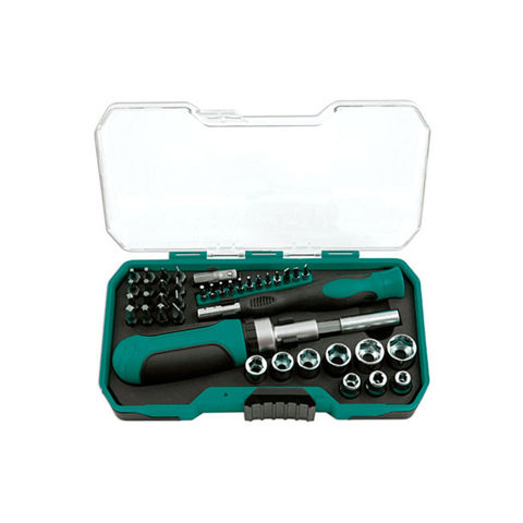 "Image of Kamasa Kamasa 41 Piece 1/4"" Drive Socket and Bit Set"