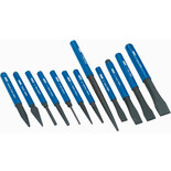 Draper CP12NP 12 Piece Cold Chisel and Punch Set