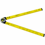 "24"" (600mm) Ruler & Angle Finder"
