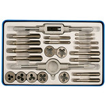 Gunson 77123 Whitworth Tap & Die Set 23 pieces