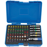Draper CMBH60 Expert Coloured 60 Piece Screwdriver Bit Set with Magnetic Holder