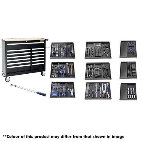 Image of Britool Britool E220334B 390 Piece Tool Kit & Tool Chest - Black