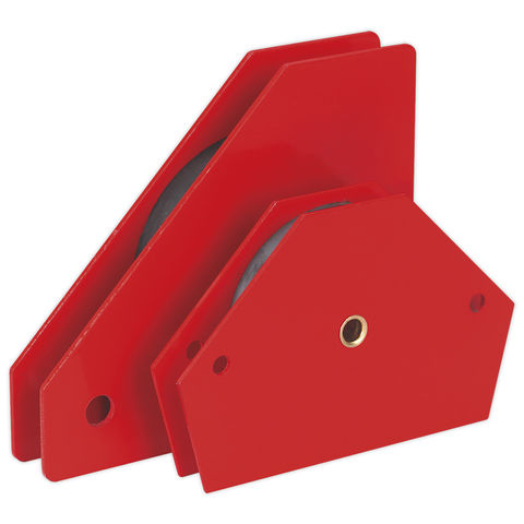 Image of Sealey Sealey MQC2 Magnetic Quick Clamp Set 2pc